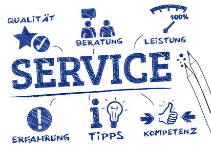 Services / Dienstleistungen